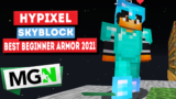 Best Armor for Beginners! – Minecraft Hypixel Skyblock in 2021