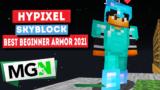 Best Armor for Beginners! – Minecraft Hypixel Skyblock in 2021